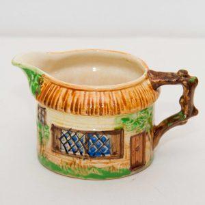 Beswick Ware COTTAGE desgn Cream milk Jug Shape 246 1930s vintage pottery