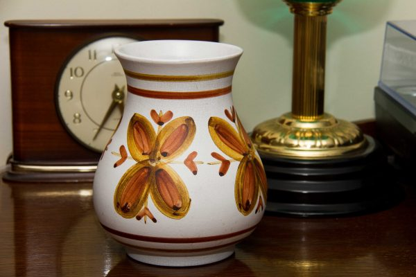 Cinque Ports Pottery, Mid Century Cinque Ports Pottery At The Monastery Rye Hand Painted Studio Pottery Vase Vintage