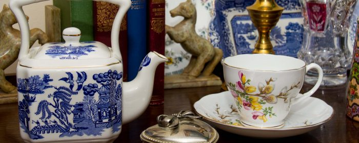 Vintage antiques and collectibles, Home