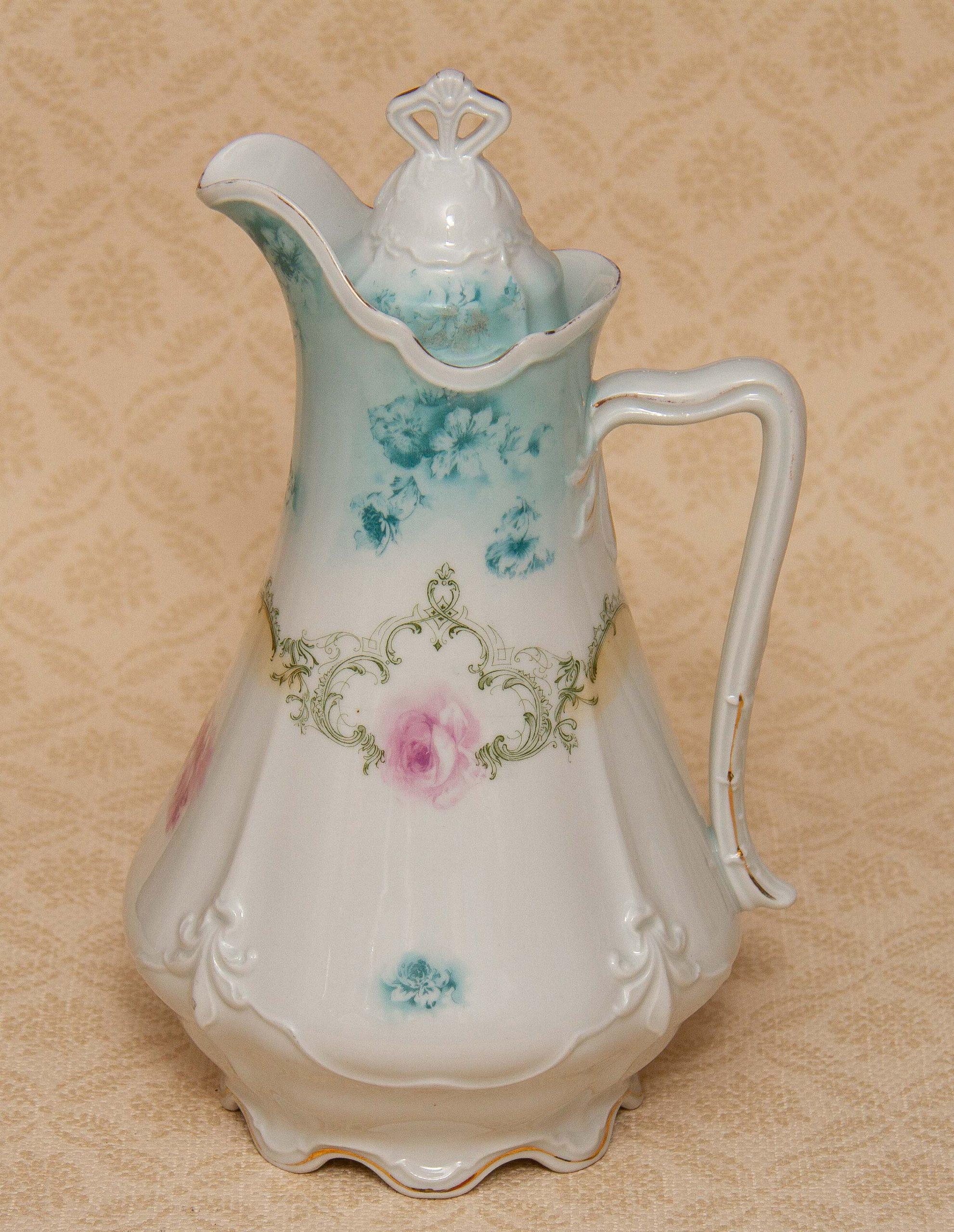 German Porcelain Antique Tea Pot