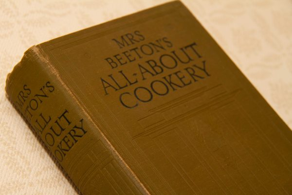 Mrs Beeton's All About Cookery, Mrs Beeton's All About Cookery – 1923 Hardback Cloth Bound Vintage Cookery Book