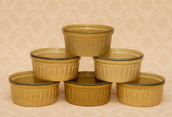 Honiton Pottery earthenware ramekin, Vintage Honiton Pottery Ramekins pots, tapas, creme brulee, dips dishes
