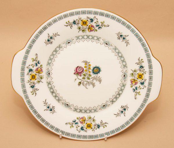 Minton Avignon cake plate, Minton Avignon Bone China Cake Plate