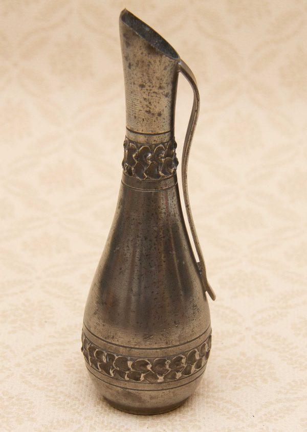 Perletinn Norway Vintage Pewter vase, Perletinn Norway Vintage Norwegian Pewter Vase