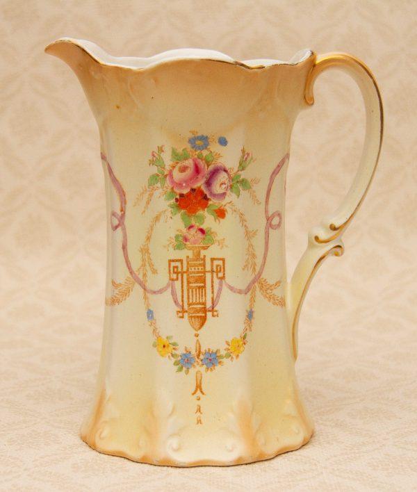 Crown Devon Fielding Art Deco, Antique A.G. Richardson Crown Ducal Doric Jug Vase