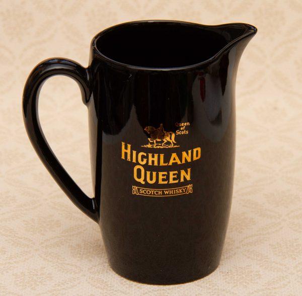 Wade whisky pub jug, Wade Highland Queen Scotch Whisky Pub Jug Pitcher/Water Whiskey Bar Jug