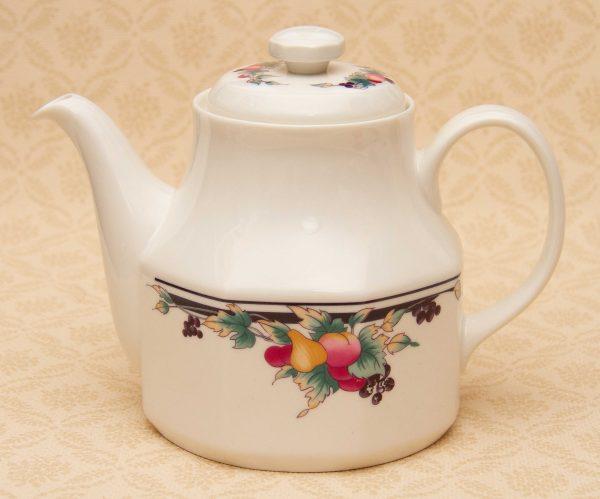 Royal Doulton China Teapot, Royal Doulton Autumn's Glory Vintage Fine China Teapot